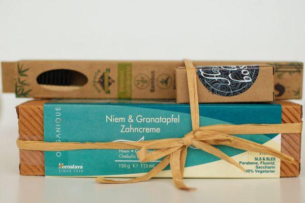 nachhaltiges Zahnpflegeset zero waste